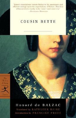 Cousin Bette By Balzac, Honore de/ Raine, Kathleen (TRN)/ Raine, Kathleen